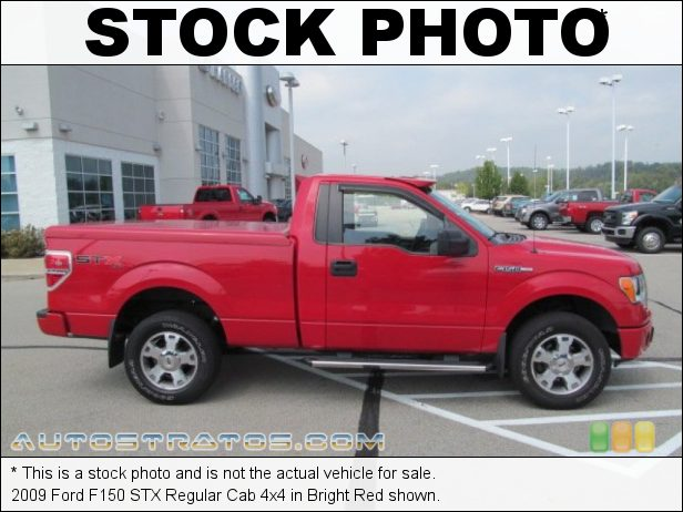 Stock photo for this 2009 Ford F150 Regular Cab 4x4 4.6 Liter SOHC 16-Valve Triton V8 4 Speed Automatic