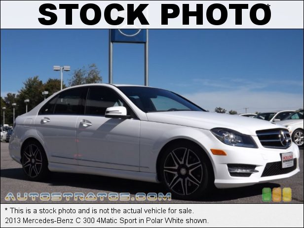 Stock photo for this 2013 Mercedes-Benz C 300 4Matic 3.5 Liter DI DOHC 24-Valve VVT V6 7 Speed Automatic