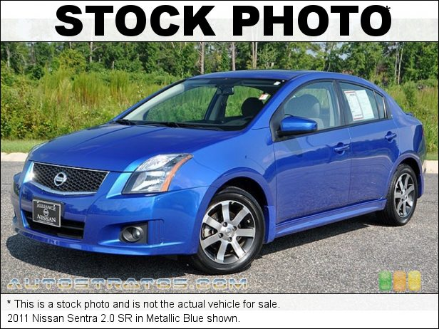 Stock photo for this 2011 Nissan Sentra 2.0 SR 2.5 Liter DOHC 16-Valve CVTCS 4 Cylinder Xtronic CVT Automatic