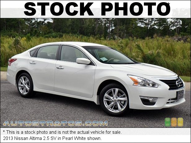 Stock photo for this 2013 Nissan Altima 2.5 SV 2.5 Liter DOHC 16-Valve VVT 4 Cylinder Xtronic CVT Automatic