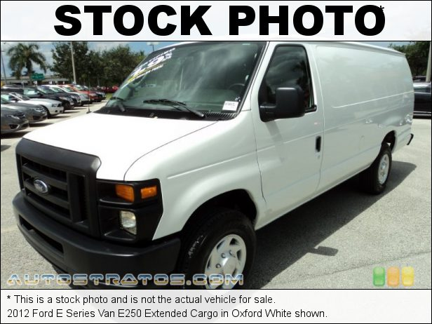 Stock photo for this 2012 Ford E Series Van E250 Extended Cargo 4.6 Liter SOHC 16-Valve Flex-Fuel Triton V8 4 Speed Automatic
