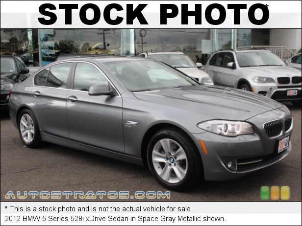 Stock photo for this 2012 BMW 5 Series 528i xDrive Sedan 2.0 Liter DI TwinPower Turbocharged DOHC 16-Valve VVT 4 Cylinder 8 Speed Steptronic Automatic