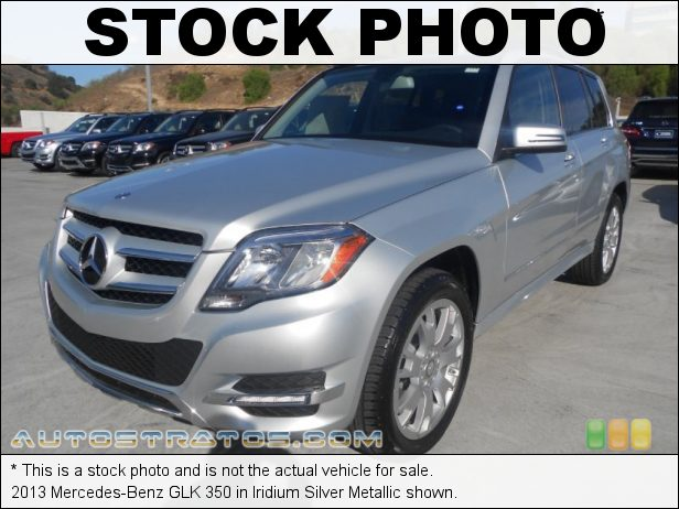 Stock photo for this 2013 Mercedes-Benz GLK 350 3.5 Liter DOHC 24-Valve VVT V6 7 Speed Automatic