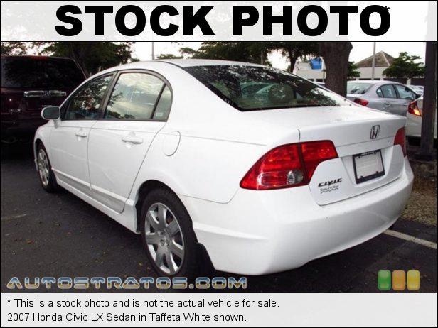 Stock photo for this 2007 Honda Civic LX Sedan 1.8L SOHC 16V 4 Cylinder 5 Speed Automatic