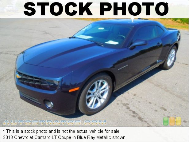 Stock photo for this 2013 Chevrolet Camaro Coupe 3.6 Liter DI DOHC 24-Valve VVT V6 6 Speed TAPshift Automatic