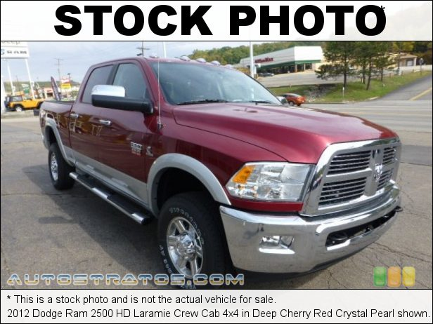 Stock photo for this 2012 Dodge Ram 2500 HD Laramie Crew Cab 4x4 6.7 Liter OHV 24-Valve Cummins VGT Turbo-Diesel Inline 6 Cylinde 6 Speed Automatic