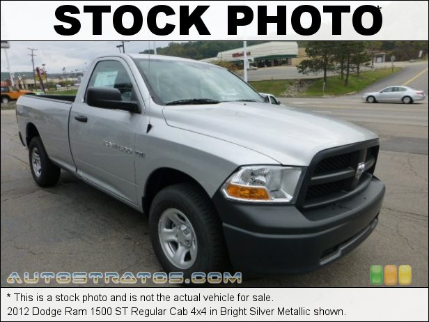 Stock photo for this 2012 Dodge Ram 1500 ST Regular Cab 5.7 Liter HEMI OHV 16-Valve VVT MDS V8 6 Speed Automatic