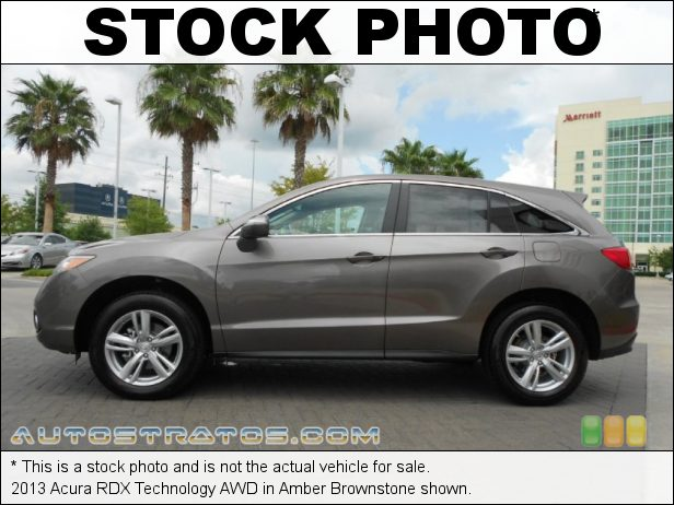 Stock photo for this 2013 Acura RDX Technology AWD 3.5 Liter SOHC 24-Valve VTEC V6 6 Speed Sequential SportShift Automatic
