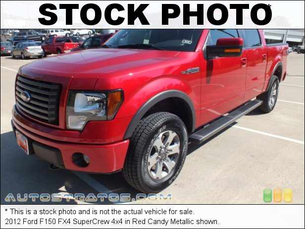 Stock photo for this 2012 Ford F150 FX4 SuperCrew 4x4 5.0 Liter Flex-Fuel DOHC 32-Valve Ti-VCT V8 6 Speed Automatic