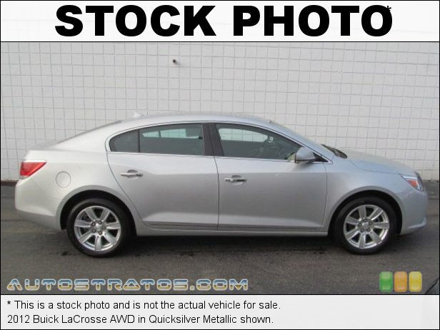 Stock photo for this 2012 Buick LaCrosse AWD 3.6 Liter SIDI DOHC 24-Valve VVT V6 6 Speed Automatic