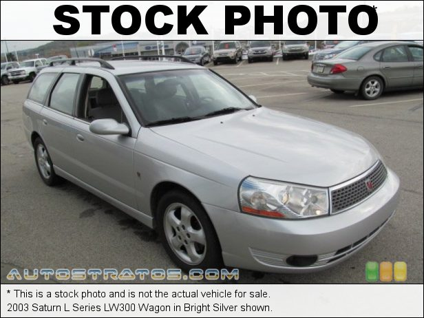 Stock photo for this 2003 Saturn L Series LW300 Wagon 3.0 Liter DOHC 24-Valve V6 4 Speed Automatic