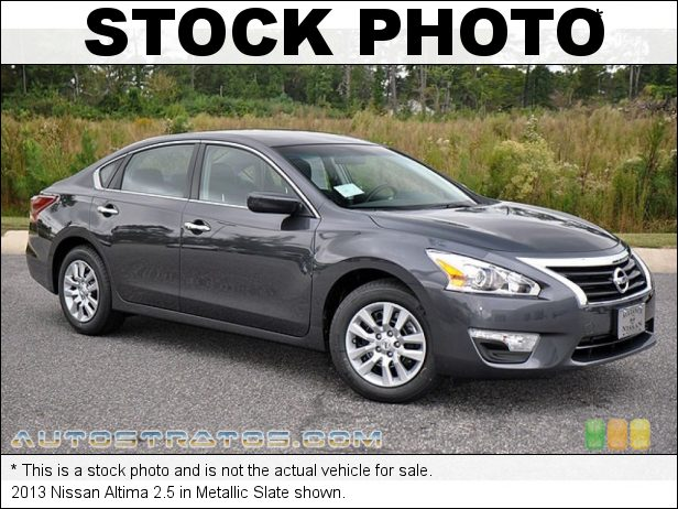Stock photo for this 2013 Nissan Altima 2.5 2.5 Liter DOHC 16-Valve VVT 4 Cylinder Xtronic CVT Automatic