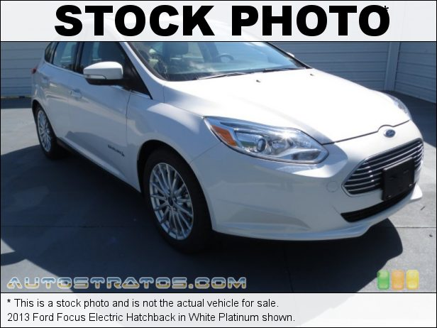 Stock photo for this 2013 Ford Focus Electric Hatchback 107 kW/147 hp Permanent Magnet Electric Traction Motor 1 Speed Automatic