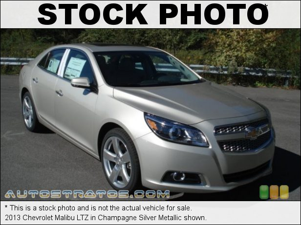 Stock photo for this 2013 Chevrolet Malibu LTZ 2.0 Liter SIDI Turbocharged DOHC 16-Valve VVT 4 Cylinder 6 Speed Automatic