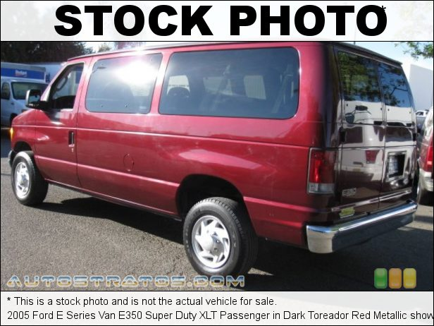 Stock photo for this 2005 Ford E Series Van E350 Super Duty Passenger 5.4 Liter SOHC 16-Valve Triton V8 4 Speed Automatic
