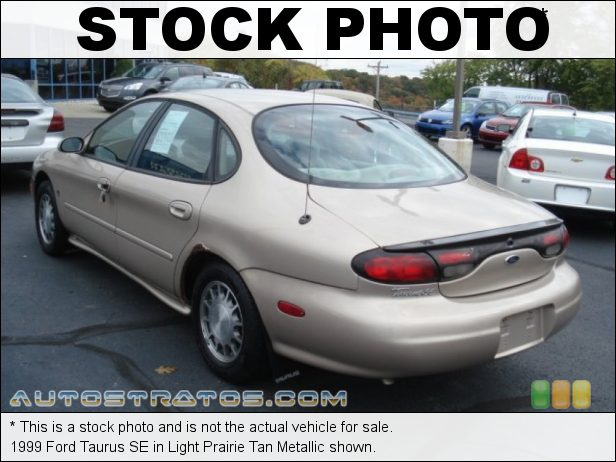 Stock photo for this 1999 Ford Taurus SE 3.0 Liter DOHC 24-Valve V6 4 Speed Automatic