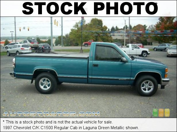 Stock photo for this 1997 Chevrolet C/K C1500 Regular Cab 5.0 Liter OHV 16-Valve V8 4 Speed Automatic