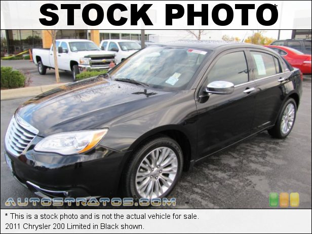 Stock photo for this 2011 Chrysler 200 Limited 3.6 Liter DOHC 24-Valve VVT Pentastar V6 6 Speed AutoStick Automatic
