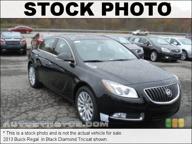 Stock photo for this 2013 Buick Regal  2.0 Liter SIDI Turbocharged DOHC 16-Valve VVT Flex-Fuel ECOTEC 4 6 Speed Automatic
