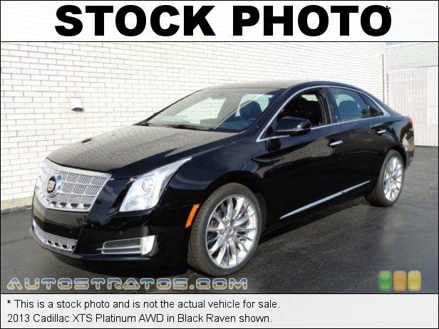 Stock photo for this 2013 Cadillac XTS Platinum AWD 3.6 Liter SIDI DOHC 24-Valve VVT V6 6 Speed Automatic