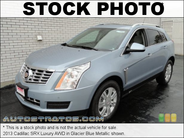 Stock photo for this 2013 Cadillac SRX Luxury AWD 3.6 Liter SIDI DOHC 24-Valve VVT V6 6 Speed Automatic