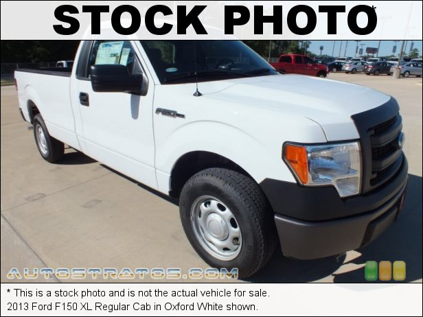 Stock photo for this 2013 Ford F150 XL Regular Cab 3.7 Liter Flex-Fuel DOHC 24-Valve Ti-VCT V6 6 Speed Automatic
