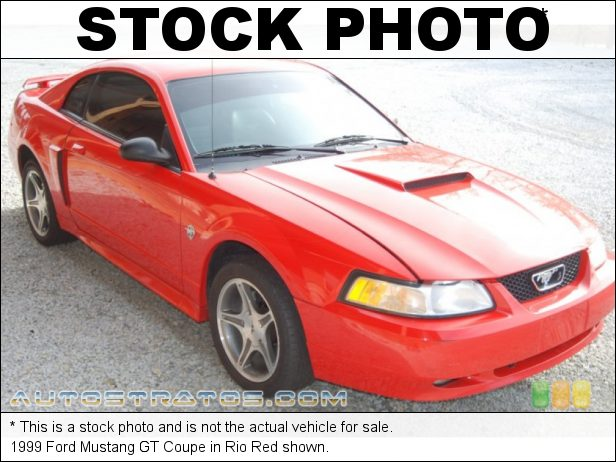 Stock photo for this 1999 Ford Mustang GT Coupe 4.6 Liter SOHC 16-Valve V8 5 Speed Manual