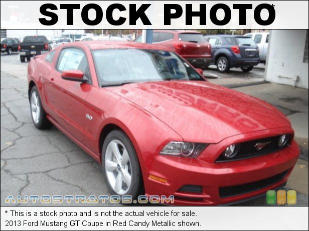 Stock photo for this 2013 Ford Mustang GT Coupe 5.0 Liter DOHC 32-Valve Ti-VCT V8 6 Speed Manual