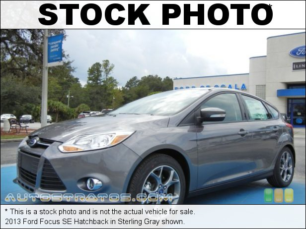Stock photo for this 2013 Ford Focus SE Hatchback 2.0 Liter GDI DOHC 16-Valve Ti-VCT Flex-Fuel 4 Cylinder 6 Speed Automatic
