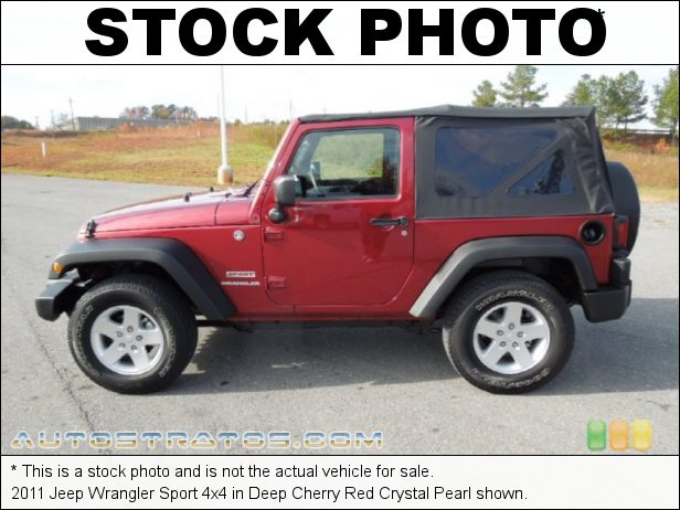Stock photo for this 2011 Jeep Wrangler Sport 4x4 3.8 Liter OHV 12-Valve V6 4 Speed Automatic