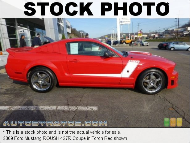 Stock photo for this 2009 Ford Mustang Coupe 4.6 Liter ROUSH Supercharged SOHC 24-Valve VVT V8 5 Speed Manual