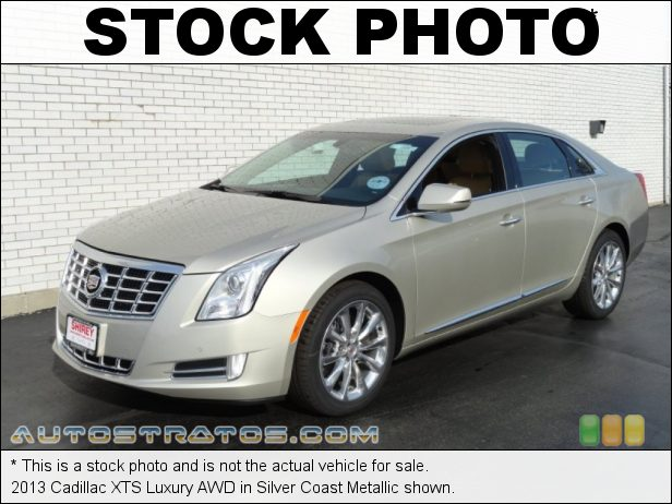 Stock photo for this 2013 Cadillac XTS Luxury AWD 3.6 Liter SIDI DOHC 24-Valve VVT V6 6 Speed Automatic
