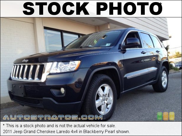 Stock photo for this 2011 Jeep Grand Cherokee Laredo 4x4 3.6 Liter DOHC 24-Valve VVT V6 5 Speed Automatic