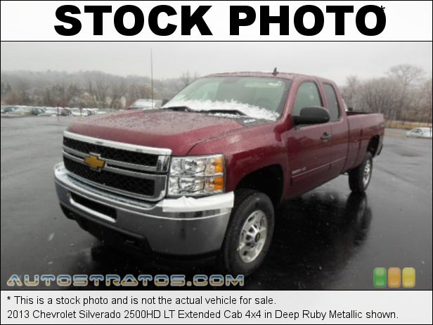 Stock photo for this 2013 Chevrolet Silverado 2500HD LT Extended Cab 4x4 6.0 Liter Flex-Fuel OHV 16-Valve VVT Vortec V8 6 Speed Automatic