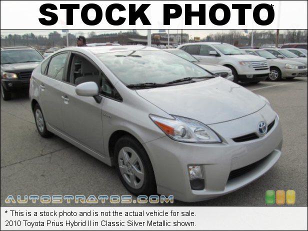 Stock photo for this 2010 Toyota Prius Hybrid 1.8 Liter DOHC 16-Valve VVT-i 4 Cylinder Gasoline/Electric Hybri ECVT Automatic