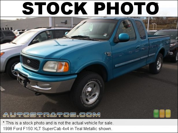 Stock photo for this 1998 Ford F150 XLT SuperCab 4x4 4.6 Liter SOHC 16-Valve Triton V8 4 Speed Automatic