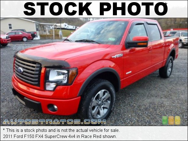Stock photo for this 2011 Ford F150 SuperCrew 4x4 3.5 Liter GTDI EcoBoost Twin-Turbocharged DOHC 24-Valve VVT V6 6 Speed Automatic