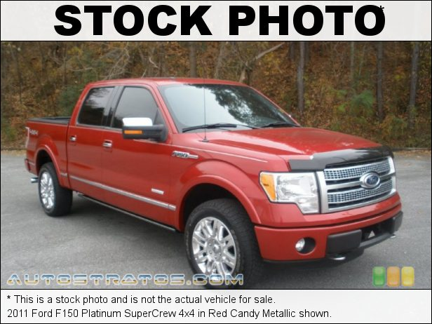 Stock photo for this 2011 Ford F150 Platinum SuperCrew 4x4 3.5 Liter GTDI EcoBoost Twin-Turbocharged DOHC 24-Valve VVT V6 6 Speed Automatic