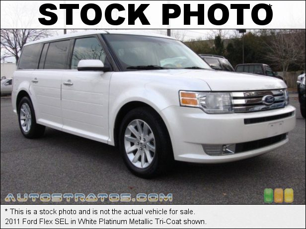Stock photo for this 2011 Ford Flex SEL 3.5 Liter DOHC 24-Valve VVT Duratec 35 V6 6 Speed Automatic