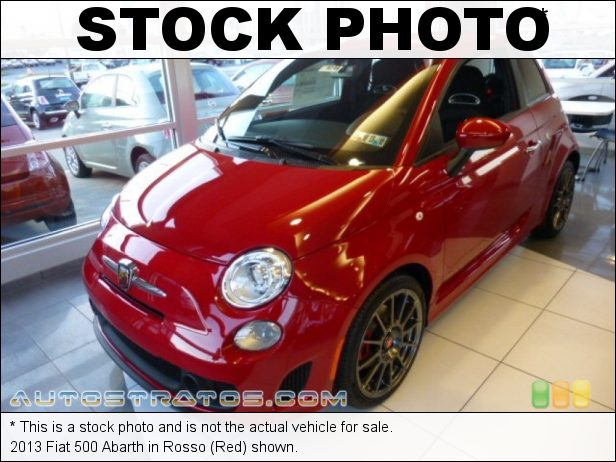 Stock photo for this 2013 Fiat 500 Abarth 1.4 Liter Abarth Turbocharged SOHC 16-Valve MultiAir 4 Cylinder 5 Speed Manual