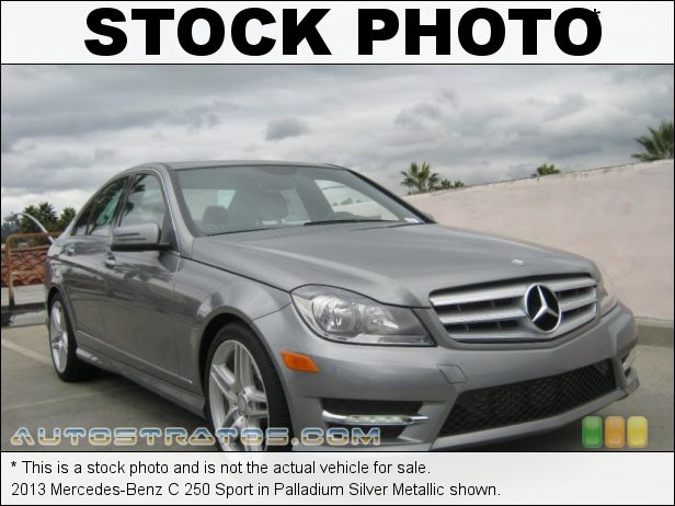 Stock photo for this 2013 Mercedes-Benz C 250 1.8 Liter DI Turbocharged DOHC 16-Valve VVT 4 Cylinder 7 Speed Automatic