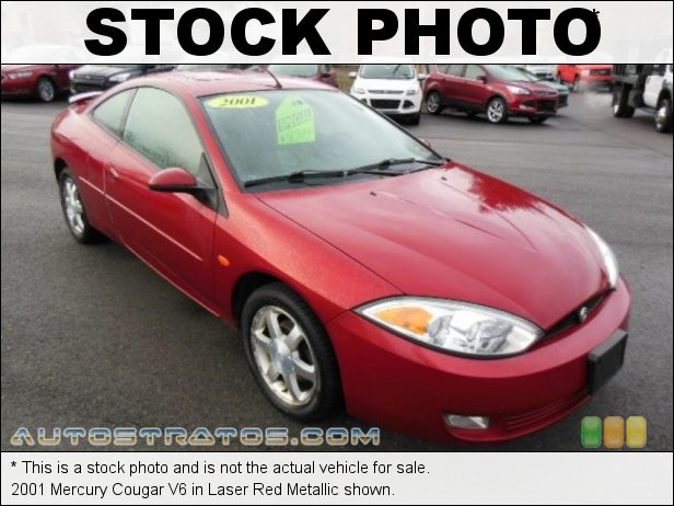 Stock photo for this 2001 Mercury Cougar V6 2.5 Liter DOHC 24-Valve V6 5 Speed Manual