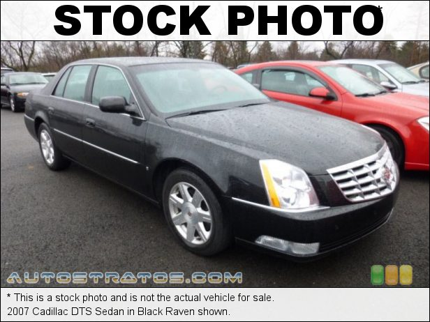 Stock photo for this 2007 Cadillac DTS Sedan 4.6 Liter DOHC 32-Valve Northstar V8 4 Speed Automatic