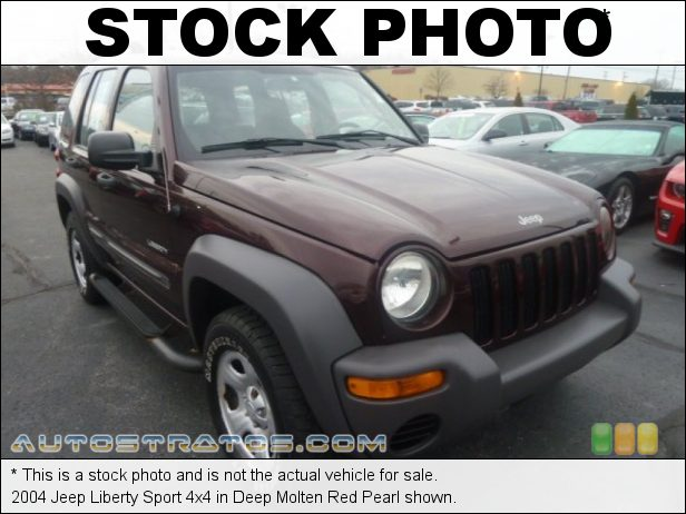 Stock photo for this 2004 Jeep Liberty Sport 4x4 3.7 Liter SOHC 12V Powertech V6 4 Speed Automatic
