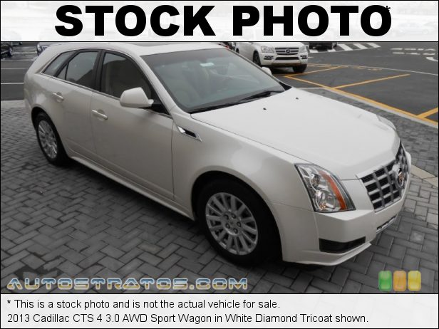 Stock photo for this 2013 Cadillac CTS 4 3.0 AWD Sport Wagon 3.0 Liter DI DOHC 24-Valve VVT V6 6 Speed Automatic