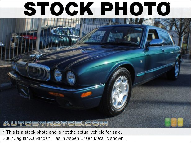Stock photo for this 2002 Jaguar XJ Vanden Plas 4.0 Liter DOHC 32 Valve V8 5 Speed Automatic