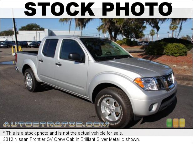 Stock photo for this 2012 Nissan Frontier SV Crew Cab 4.0 Liter DOHC 24-Valve CVTCS V6 5 Speed Automatic