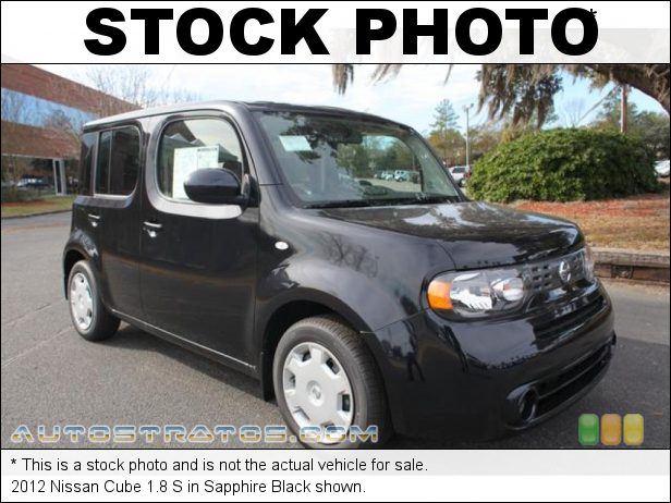 Stock photo for this 2012 Nissan Cube 1.8 S 1.8 Liter DOHC 16-Valve CVTCS 4 Cylinder Xtronic CVT Automatic