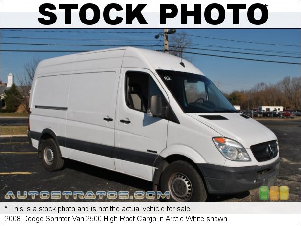 Stock photo for this 2008 Dodge Sprinter Van 2500 3.0 Liter CRD DOHC 24-Valve Turbo Diesel V6 5 Speed AutoStick Automatic