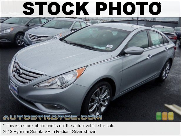 Stock photo for this 2013 Hyundai Sonata  2.4 Liter DOHC 16-Valve D-CVVT 4 Cylinder 6 Speed Shiftronic Automatic